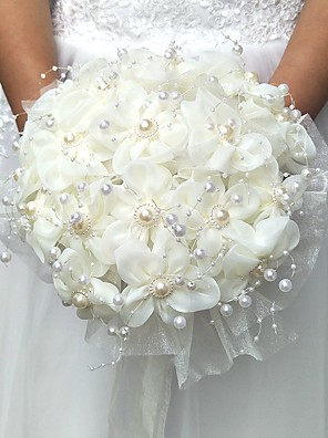 cheap Bridesmaid Dresses-Wedding Flowers Bouquets / Others / Artificial Flower Wedding / Party / Evening Material / Lace 0-20cm