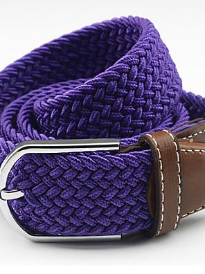 cheap Men's Belt-Unisex Accent / Decorative / Dress Belt Alloy Wide Belt - Solid Colored Fashion