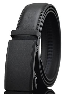 cheap Men's Belt-Men's Work / Belt / Wedding Waist Belt - Solid Colored