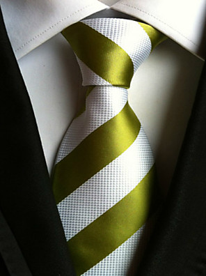 cheap Men's Shirts-Men's Neckwear / Stripes Necktie - Striped