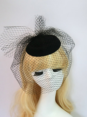 cheap Wedding Slips-Resin / Cotton Fascinators / Hats with 1 Wedding / Special Occasion / Halloween Headpiece