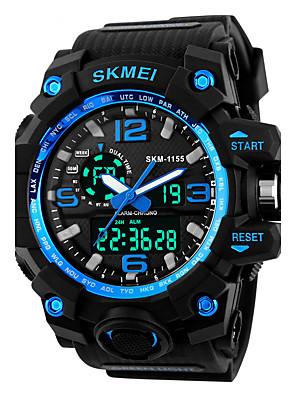ieftine Ceas Militar-SKMEI Bărbați Ceas Sport Ceas Militar Ceas La Modă Ceas de Mână Ceas digital Japoneză Quartz LED Calendar Cronograf Rezistent la Apă Zone