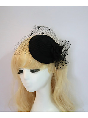 cheap Evening Dresses-Resin / Cotton Fascinators / Hats with 1 Wedding / Special Occasion / Halloween Headpiece