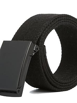 cheap Men's Belt-Men's Classic & Timeless Waist Belt - Solid Colored