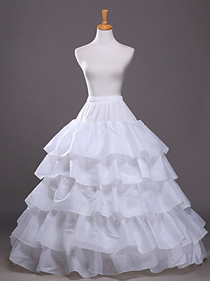 cheap Wedding Slips-Wedding / Party / Evening / Party & Evening Slips Taffeta / Tulle Floor-length A-Line Slip / Ball Gown Slip / Classic & Timeless with