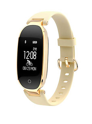 cheap Smart Watches-S3 Women Smart Bracelet Smartwatch Android iOS Bluetooth Waterproof Heart Rate Monitor Sports Calories Burned Exercise Record Pedometer Call Reminder Sleep Tracker Sedentary Reminder Find My Device