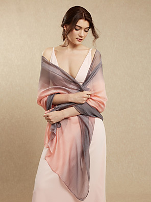 cheap Prom Dresses-Shawls Rayon Wedding / Party / Evening Women's Wrap With