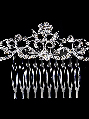 cheap Prom Dresses-Rhinestone / Alloy Hair Combs with 1 Wedding / Special Occasion / Birthday Headpiece