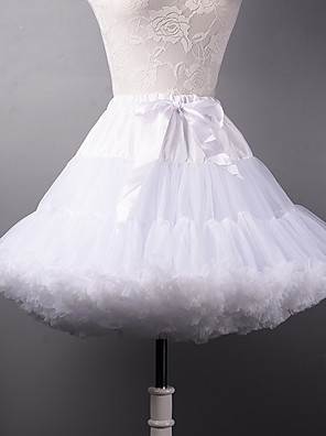 cheap Wedding Slips-Wedding / Halloween / Party / Evening Slips Tulle / Polyester Short-Length A-Line Slip / Ball Gown Slip / Classic & Timeless with