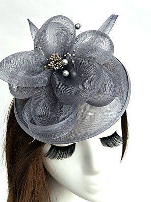 cheap Evening Dresses-Net Fascinators / Hats / Birdcage Veils with 1 Wedding / Special Occasion / Tea Party Headpiece