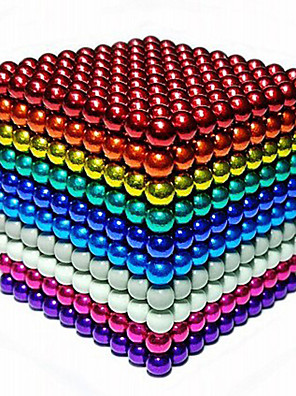 cheap Girls' Dresses-216/512/1000 pcs 5mm Magnet Toy Magnetic Balls Building Blocks Super Strong Rare-Earth Magnets Neodymium Magnet Neodymium Magnet Stress and Anxiety Relief Office Desk Toys DIY Adults' Unisex Boys