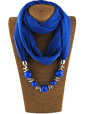 cheap Maxi Dresses-Women's Basic Infinity Scarf - Solid Colored