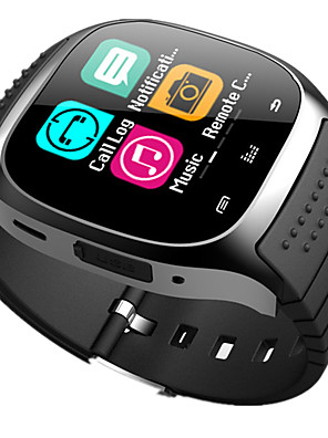 cheap Smart Watches-M26 Kid Smart Watch BT 4.0 Cheap Fitness Tracker Support Notify & Heart Rate Monitor Compatible SAMSUNG/SONY Android Phones & Apple