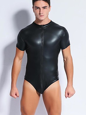 cheap Men's Exotic Underwear-Men's Super Sexy Undershirt Solid Colored
