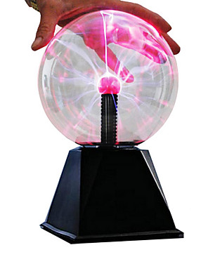 "cheap Cocktail Dresses-6"" LED Lighting Plasma Ball Educational Toy with Sound Sensor Large Size Kid's Boys' Girls' Toy Gift 1 pcs"