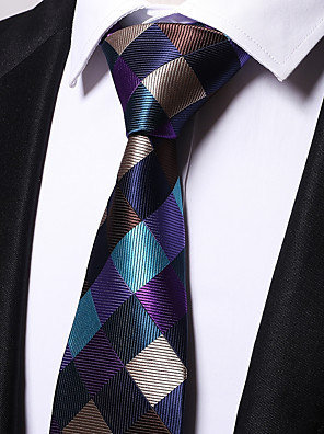 cheap Men's Accessories-Men's Work Necktie - Striped