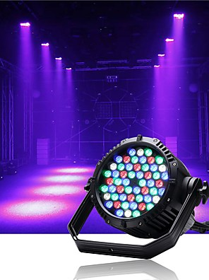 cheap Evening Dresses-U'King Disco Lights Party Light LED Stage Light / Spot Light / LED Par Lights Auto 200 W Party / Stage / Wedding Professional White Red Blue for Dance Party Wedding DJ Disco Show Lighting