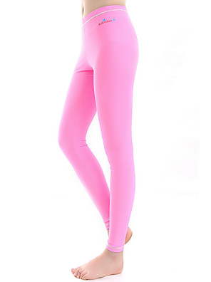 cheap Mother of the Bride Dresses-Bluedive Women's Dive Skin Leggings Bottoms SPF50 UV Sun Protection Breathable Swimming Diving Surfing Solid Colored / Quick Dry / High Elasticity / Quick Dry