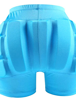 cheap Gymnastics-Impact Shorts / Padded Compression Shorts for Ski / Snowboard / Ice Skating Protective Practise Black / Peach / Sky Blue