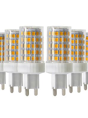 cheap Romantic Lace Dresses-YWXLight® 6pcs 10W 900-1000lm G9 LED Bi-pin Lights 86LED 2835SMD  High Quality Ceramic Dimmable LED Light Bulb AC 220-240V