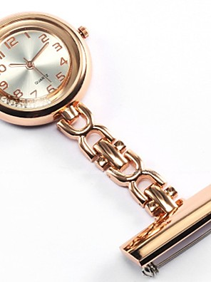 cheap Quartz Watches-Women's Couple's Pocket Watch Necklace Watch Nurse Watch Quartz Ladies Casual Watch Silver / Gold / Rose Analog - Gold Silver Rose