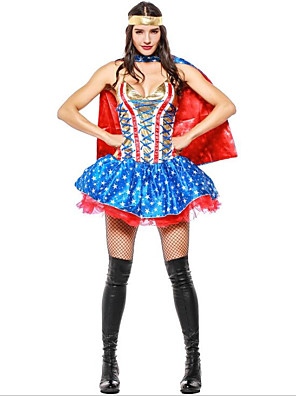 super heroes witch cosplay halloween halloween carnival oktoberfest festival holiday halloween costumes outfits ink blue