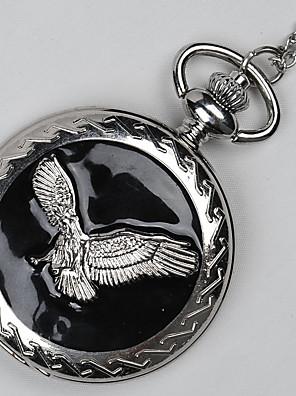 cheap Quartz Watches-Men's Couple's Casual Watch Pocket Watch Quartz Casual Casual Watch Silver Analog - Black