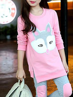cheap Girls' Dresses-Kids Toddler Girls' Cartoon Clothing Set Blushing Pink