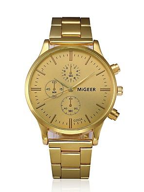 cheap Steel Band Watches-Men's Dress Watch Quartz Classic Chronograph Analog Rose Gold / White Gold / One Year / Stainless Steel / Stainless Steel / SSUO LR626