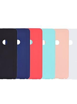 cheap Xiaomi Case-Case For Xiaomi Xiaomi Redmi Note 4X / Xiaomi Redmi Note 4 / Redmi 5A Frosted Back Cover Solid Colored Soft TPU