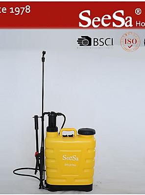 cheap Wedding Veils-International 61500 Backpack Disinfectant Bleach Hand-Pumped Sprayer for Fertilizer, 4 gal
