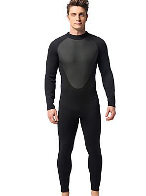 cheap Junior Bridesmaid Dresses-MYLEDI Men's 3mm Neoprene Diving Suit Thermal / Warm Waterproof Long Sleeve Back Zip - Swimming Diving Classic Spring Summer Fall / Winter
