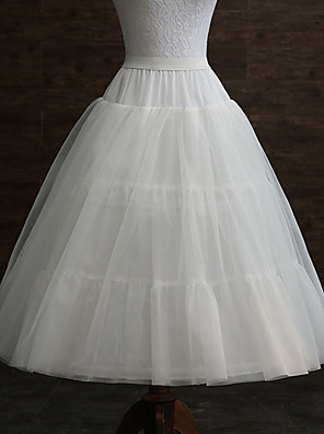 cheap Wedding Slips-Wedding / Event / Party Slips POLY Gown Length Shaping Slips / Long with Pleats