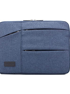 """cheap Mac Accessories-13.3"""" 14"""" 15.6"""" Nylon Solid Color Handle Laptop Bag Laptop Sleeves for Macbook/Surface/HP/Dell/Samsung/Sony Etc"""
