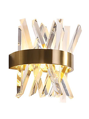 cheap Cocktail Dresses-QIHengZhaoMing Crystal LED / Modern Contemporary Wall Lamps & Sconces Shops / Cafes / Office Metal Wall Light 110-120V / 220-240V 3 W / G9