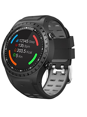 cheap Smart Watches-M1S Smart Watch Bluetooth Fitness Tracker Support Notification/ Heart Rate Monitor Built-in GPS Sports Smartwatch Compatible with iPhone/ Samsung/ Android Phones