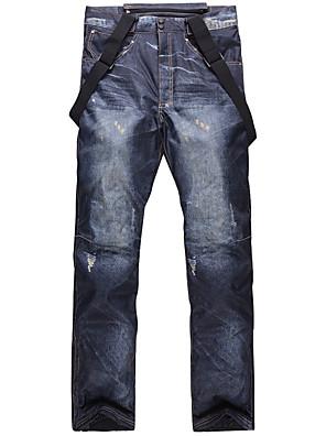 cheap Romantic Lace Dresses-Men's Ski / Snow Pants Ski / Snowboard Hiking Waterproof Windproof Warm Cotton Eco-friendly Polyester Bib Pants Ski Wear / Winter