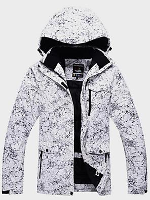 cheap Party Dresses-ARCTIC QUEEN Men's Women's Ski Jacket Ski / Snowboard Winter Sports Outdoor Thermal / Warm Waterproof Windproof Winter Jacket Ski Wear / Floral Botanical