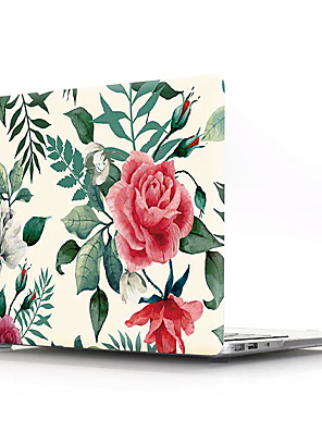 "povoljno Oprema za MacBook-MacBook Slučaj Cvijet PVC za MacBook Pro 13"" / MacBook Air 11"" / New MacBook Air 13"" 2018"