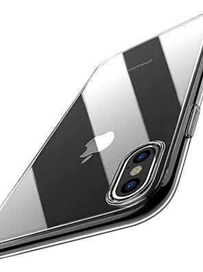 povoljno iPhone maske-Θήκη Za Apple iPhone XS / iPhone XR / iPhone XS Max Ultra tanko / Prozirno Stražnja maska Jednobojni Mekano TPU
