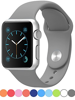 cheap Evening Dresses-Watch Band for Apple Watch Series 5/4/3/2/1 Apple Sport Band Silicone Wrist Strap