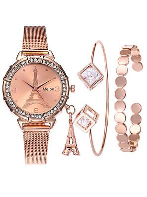 cheap Kids' Watches-Women's Wrist Watch Diamond Watch Gold Watch Quartz Ladies Creative Rose Gold Analog - Rose Gold Rose Gold / Silver Rose Gold / White