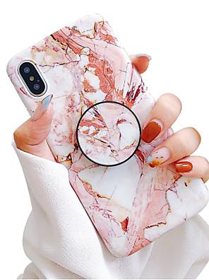 povoljno iPhone maske-Θήκη Za Apple iPhone 11 / iPhone 11 Pro / iPhone 11 Pro Max sa stalkom / IMD / Mutno Stražnja maska Mramor Mekano TPU