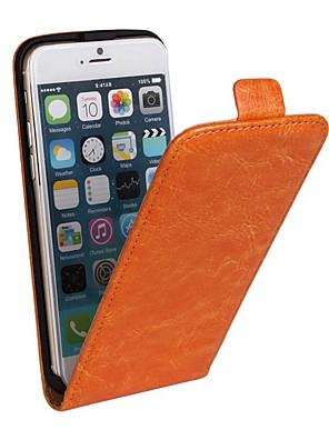 povoljno iPhone maske-Θήκη Za Apple iPhone 8 Plus / iPhone 8 / iPhone 7 Plus sa stalkom / Zaokret Korice Jednobojni Tvrdo PU koža