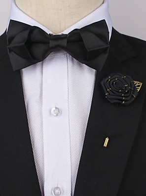 cheap Men's Accessories-Men's Party / Basic Bow Tie - Solid Colored Bow / Suits