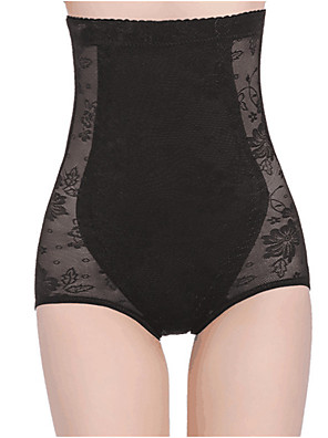 cheap Evening Dresses-Normal Nylon Corset Sexy Embroidered Wedding Solid Underbust Corset