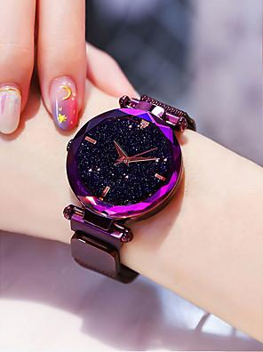 cheap Quartz Watches-Women's Luxury Watches Wrist Watch Quartz Watches Black / Blue / Purple 30 m Water Resistant / Waterproof Imitation Diamond Analog Ladies Casual Fashion - Purple Blue Rose Gold