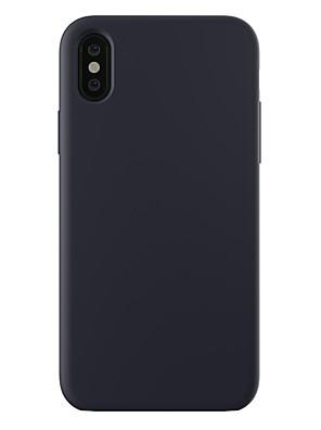 povoljno iPhone maske-Θήκη Za Apple iPhone XS / iPhone XR / iPhone XS Max Otporno na trešnju / Ultra tanko / Mutno Stražnja maska Jednobojni Tvrdo PC