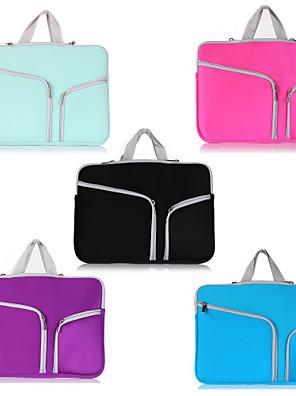 cheap Mac Accessories-Solid Color Handbags For MacBook Pro Air 11-15 Laptop Bag