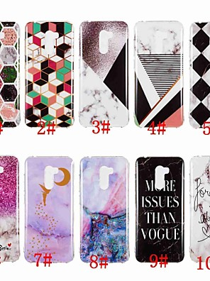cheap Xiaomi Case-Case For Xiaomi Xiaomi Redmi Note 5A / Xiaomi Redmi Note 5 Pro / Xiaomi Redmi Note 6 IMD / Pattern Back Cover Marble Soft TPU / Xiaomi Redmi Note 4